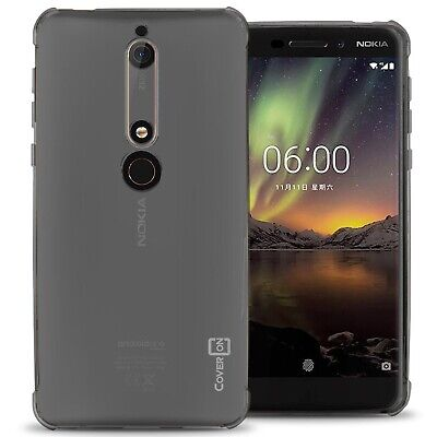 Clear For Nokia 6 (2018) / 6.1 Case - Flexible TPU Rubber Gel Slim Phone Cover