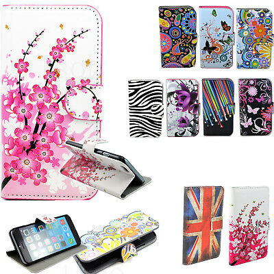 Magnetic Flip Leather Wallet Phone Case Cover For Samsung Galaxy S5 S4 S3 Mini
