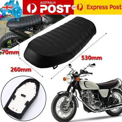 Universal Motorcycle Cafe Racer Flat Seat Hump Saddle for Yamaha Honda CG MA1491