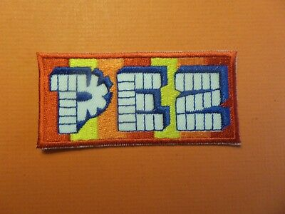 "Pez"" Candy "" Embroidered Iron On Patch 1-5/8 X 3-3/8"