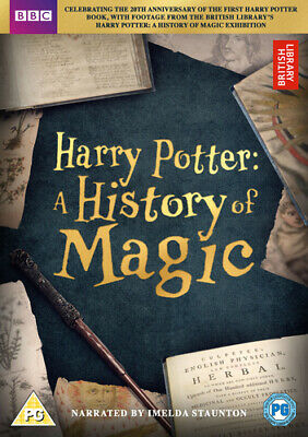 Harry Potter: A History of Magic DVD (2017) Imelda Staunton cert PG Great Value