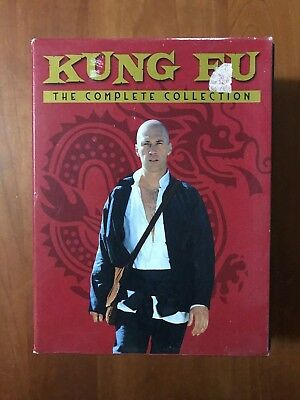 Kung Fu: The Complete Series Collection (DVD, 16 Disc Box Set) Seasons 1, 2 & 3