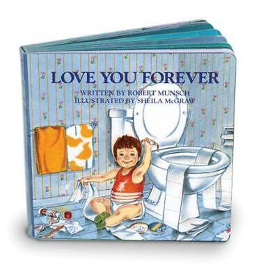Love You Forever by Robert Munsch Board Books Book Free Shipping!