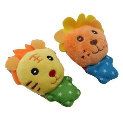 Cartoon Baby Toy 0-12 Months Soft Animal Baby Rattles Children Infant Newborn LC