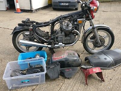 HONDA CX 500 Classic Motorcycle-Circa 1981- For Spares Or Bobber Donor Parts