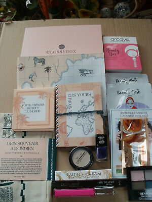 Diverse Beauty-Utensilien aus aktueller Brigitte Box - Glossybox - My little Box
