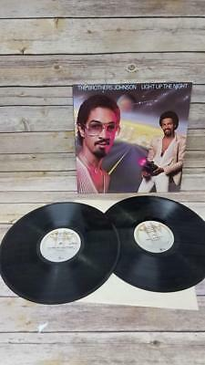 The Brothers Johnson Light Up The Night Vintage Collectors Vinyl Record Album