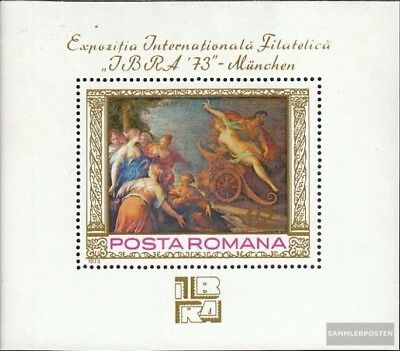 Romania block104 (complete issue) used 1973 Stamp Exhibition