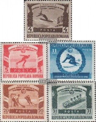 Romania 1247-1251 (complete issue) unmounted mint / never hinged 1951 university