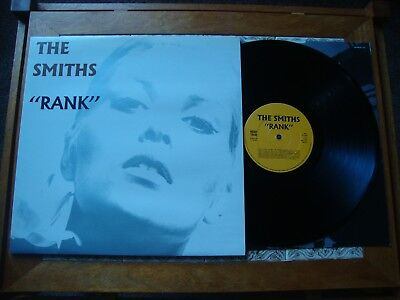 """The SMITHS """"RANK"""" Rough Trade 1988 1st PRESS With Inner Near Mint"""