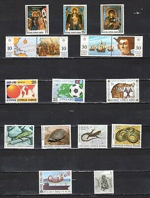 Cyprus - Lot Of Early Unused MH/OG Stamps {CY29}