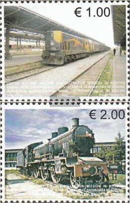 kosovo (UN-Administration) 90-91 mint never hinged mnh 2007 Railways