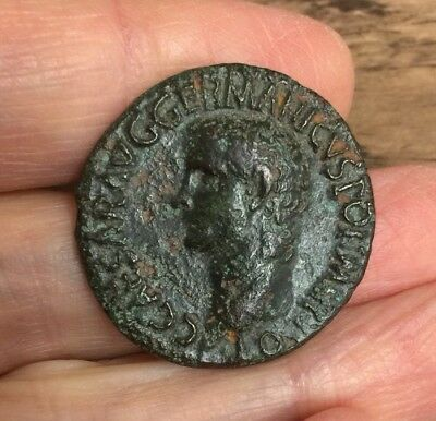 Roman. Caligula (37-41 A.d). Copper Coin (Ae As)