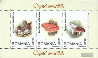 Romania block333 (complete.issue.) unmounted mint / never hinged 2003 Mushrooms