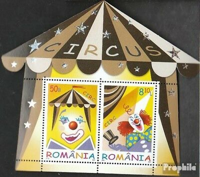Romania Block505 (complete.issue.) unmounted mint / never hinged 2011 Circus