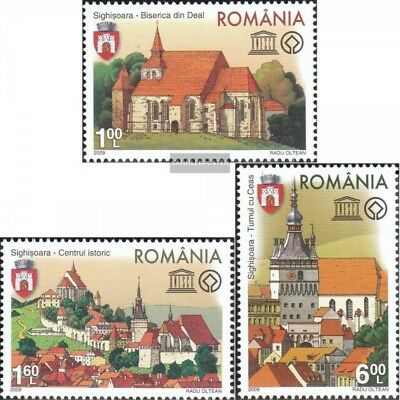 Romania 6367-6369 (complete.issue.) unmounted mint / never hinged 2009 UNESCO -