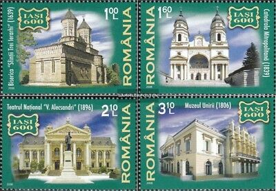 Romania 6319-6322 (complete.issue.) unmounted mint / never hinged 2008 600 years