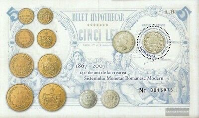 Romania Block410 (complete.issue.) unmounted mint / never hinged 2007 140Jahre L
