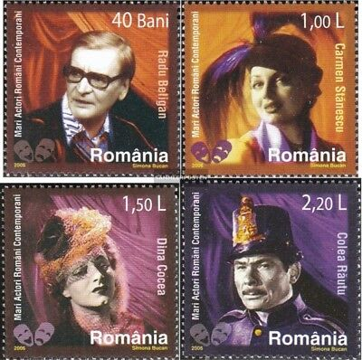 Romania 6142-6145 (complete.issue.) unmounted mint / never hinged 2006 Cast