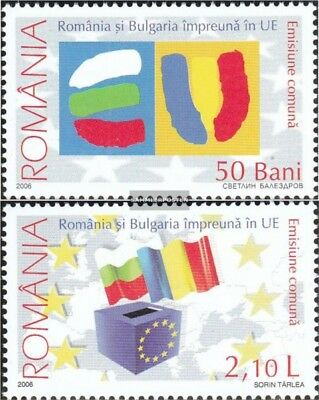 Romania 6149x-6150x (complete.issue.) unmounted mint / never hinged 2006 Europea