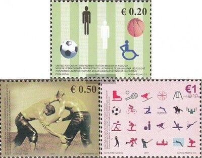kosovo (UN-Administration) 83-85 mint never hinged mnh 2007 Sports