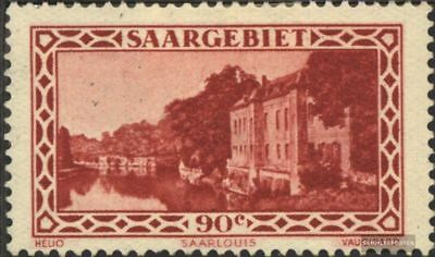 Saar 160 (complete.issue.) with hinge 1932 Landscapes