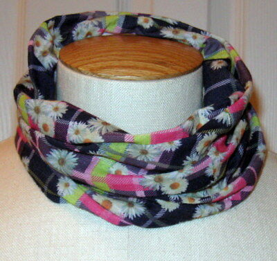Fashion Angels Girls Infinity Scarf Blue Pink Green Floral One Size