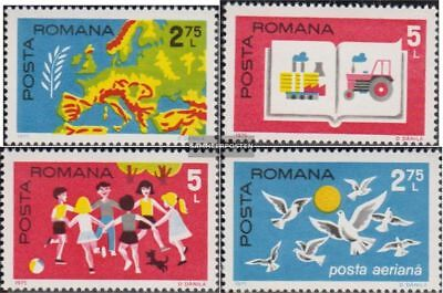 Romania 3280-3283 (complete.issue.) unmounted mint / never hinged 1975 CSCE