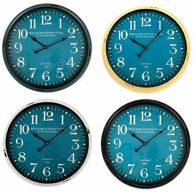 Wall Clock Vintage 51cm Decoration Analog Watch Living Room Nostalgic
