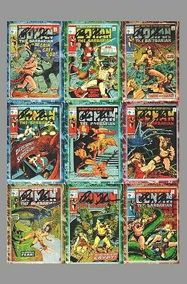Roy Thomas Signed Conan The Marvel Years Complete Card Set Comic Images Chrome