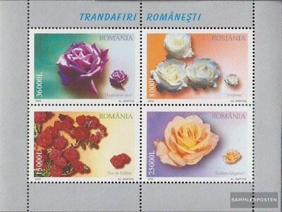 Romania Block344 (complete.issue.) unmounted mint / never hinged 2004 Rose varie