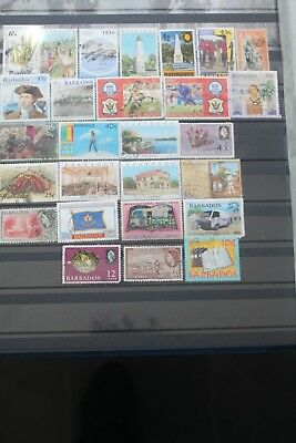 25+ Stamps - Barbados - Off Paper - Used # 1557