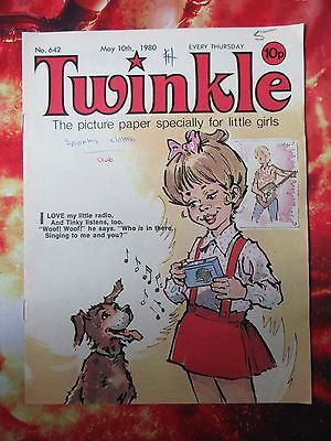 Twinkle  Comic No.642. 10 May 1980. Fn. With Dress Twinkle Page