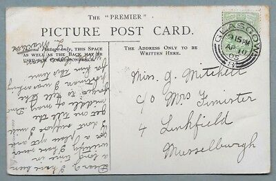 1905 Postcard sent to Miss Mitchell, C/o Mrs Fimister, 4, Linkfield, Musselburgh