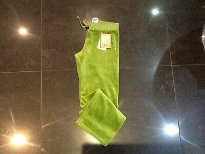 NWT Juicy Couture New & Genuine Girls Age 6 Green Velour Tracksuit Pants
