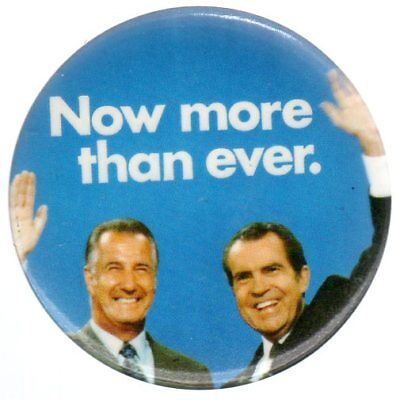Now More Than Ever Large Campaign Slogan Button