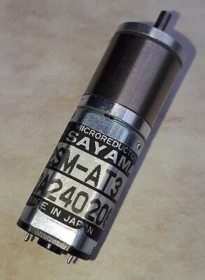 SAYAMA DC Microreduction Geared Motor 12SM-AT3 DC 12V
