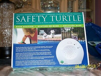 new in box Safety Turtle wireless alarm station