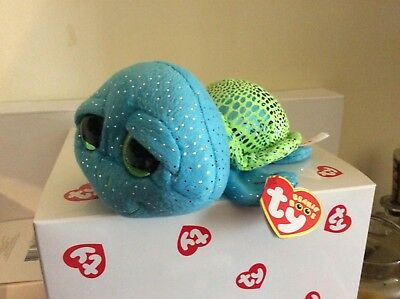 7447f4b3d3f TY BEANIE BOO CARA the Sea Turtle-Sea World Exclusive 6