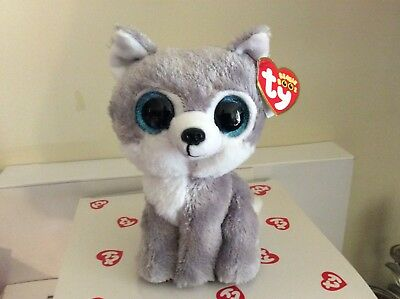 "Ty Beanie Boos Set ~ RIVER /& WARRIOR the Wolves 6/"" NEW MWMT/'S GWL Exclusives"