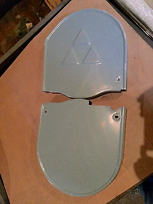 "Delta Rockwell 14"" Band Saw Wheel Cover Set p/n 426023540030 Upper Lower"