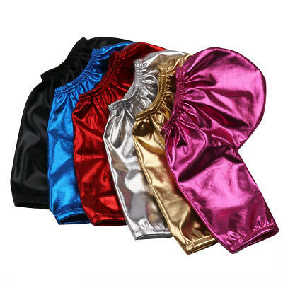 Men's Sissy Willy Pouch Shiny Penis Sock Open Cover Up Sleeve Bikinis Underwear