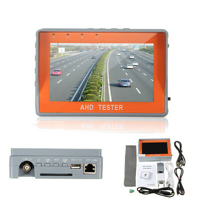 Portable 4.3/'/' CCTV Camera UTP Test Monitor LCD Audio Video Security Tester X2D1