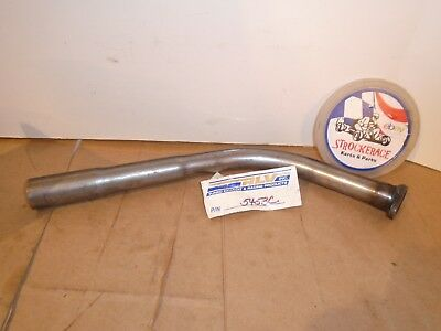 Racing Go Kart Nos Rlv 5453C Briggs Curved Exhaust Pipe Flat Head Vintage Cart