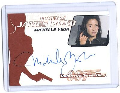 James Bond Michelle Yeoh Wai Lin autograph auto card #WA17 Star Trek Discovery