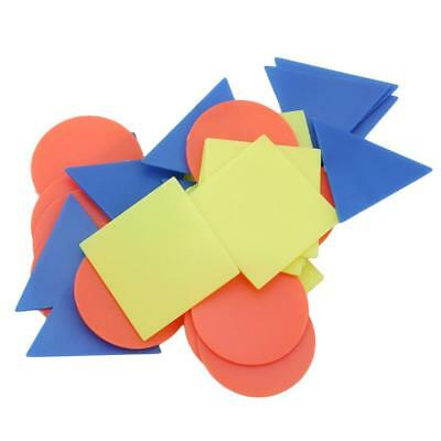 1 Bag Plastic Board Game Counters Tiddly Winks Numeracy Teaching Tool LA