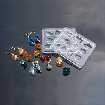 Silicone Mold DIY Mould Resin Craft Tool for Earrings Necklace Pendant Making