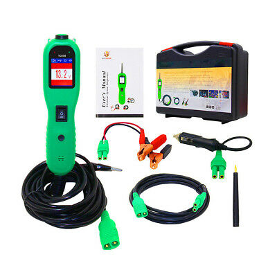 12V 24V Car Truck Digital Electric Circuit Tester Voltage Power Multimeter Tool