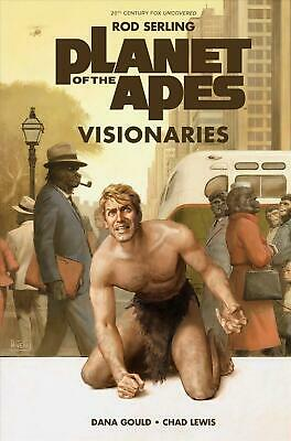 Planet of the Apes Visionaries by Rod Serling Hardcover Book Free Shipping!