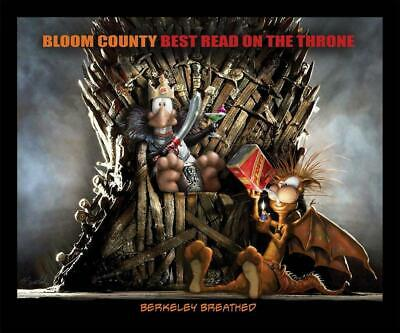 Bloom County Best Read On The Throne by Berkeley Breathed Paperback Book Free Sh